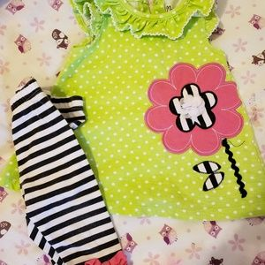 12 month infant girl outfit